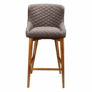 Stylish Counter Stool in Brown