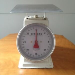Antique Detecto Top Loading Weigh Scales