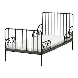 ikea minnen extendable bed frame