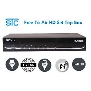 Free to air set top box ! Basic cable feed required