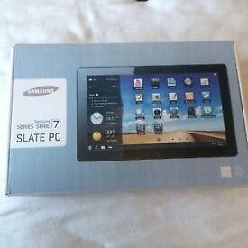"Samsung Slate 700T Tablet i5-PC, 11.6"", 128gbSSHD, 4GB Ram, Webcam, Window10, Microsoft Office 2013"