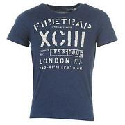 Mens Firetrap T Shirt