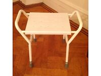 Shower Stool - adjustable height