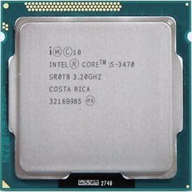 Intel i5 3470 Quad-core Processor (perfect condition)
