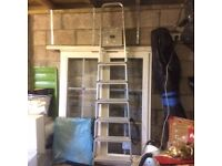 7 step aluminium step ladder.