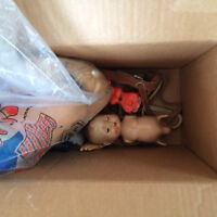 Antique and vintage doll parts