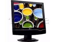 LG flatron 19 inch LCD tv/monitor