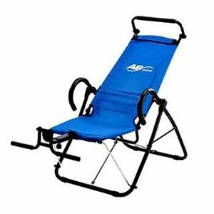 Ab lounge chair home workout equipment device