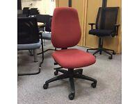 Terracotta High Back Operators Chair