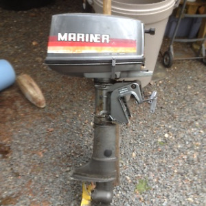 5 HP Mariner outboard