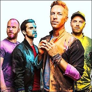 2 Tickets Coldplay: Rogers Place, Edmonton AB September 26, 2017