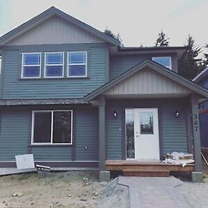 Beautiful new four bedroom home in new subdivision near VIU.