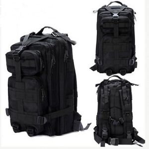 Black Tactical Backpack