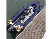 Ribcraft 4.8 metre Rib Boat (with roller trailer & 60hp Yamaha engine)