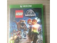 XBox One Lego Jurassic World game - vgc - with original box and instructions