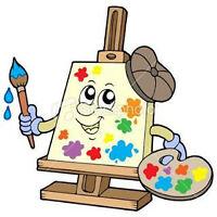 Cours de peinture décorative