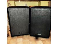 1200w amp and 1000w speakers