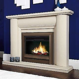 Celsi Electriflame Electric Fire in Oxford Brown