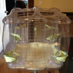 Male Budgie with 2 Cages & all accessories Kawartha Lakes Peterborough Area image 9