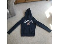 Abercrombie & Fitch navy hoodie