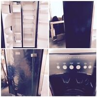 Frigidaire stainless steel side by side