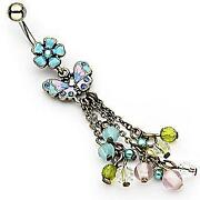 Vintage Belly Button Rings