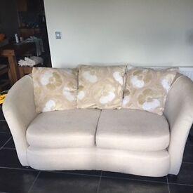 Sofa with matching swivel sofa chair