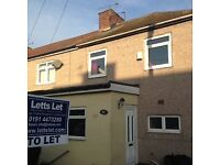 Very spacious 3 bed home to let on Sidney Street, Boldon Colliery