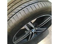 1 x BMW Alloy with Tyre & 1 x BMW Alloy (no Tyre)