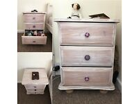 Two Bedside Tables for Sale (Pine)