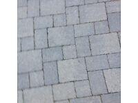 Block paving. 12 square meters of Tobermore grey block . Never used . In Penwortham