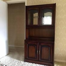 Tall timber cabinet with good looks and storage too Balmoral Brisbane South East Preview