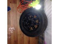 Classic Mini Wheels 12x5 set of 4