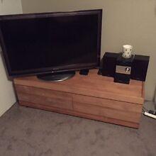 GORGEOUS Oishi Teak TV Cabinet (L140 x H37 x D47cm) Cammeray North Sydney Area Preview