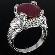 Blood Red Ruby Ring