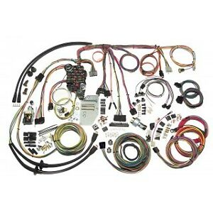 1955 56 CHEVY BELAIR CLASSIC UPDATE AMERICAN AUTOWIRE WIRING HARNESS KIT500423
