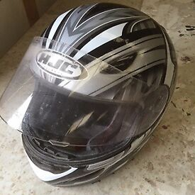 motor bike helmet worn only four or five times as new