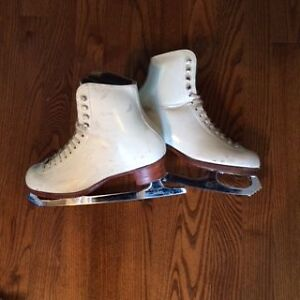 Riedell figure skates with Coronation Ace blades
