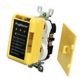 Rack-a-tiers 99102 Plug Master Circuit Tester - 220 Volt