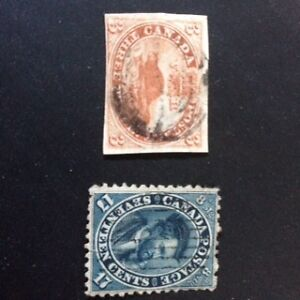 Canadian Stamp Collection - 1850s - current
