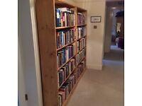 Custom Made Solid Pine Bookshelves