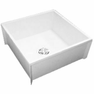 Proflo PFMB3624S 36 X 24 Floor Mounted Mop Service Sink With Integral Drain - $194.99