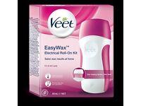 Veet Easy Wax Electrical Roll On Kit BNIB