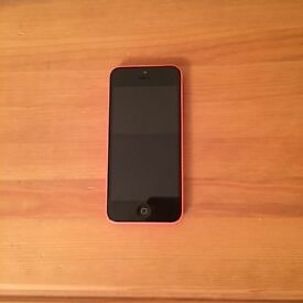Apple iPhone 5c 16GB in mint condition (pink)