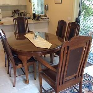Blackwood Dinning Table and Chairs Mount Clear Ballarat City Preview