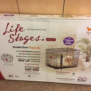 Medium dog crate in excellent condition!