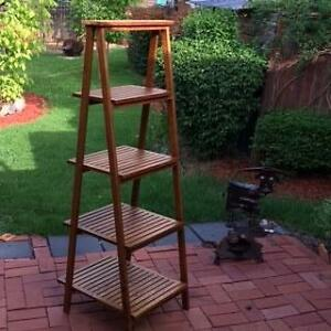 Wooden Ladder Shelves Armidale Armidale City Preview