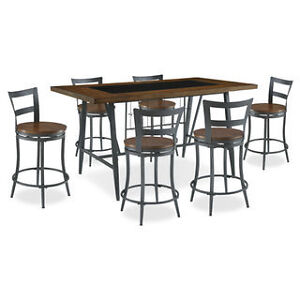 Nolita 7-Piece Counter-Height Dining Package