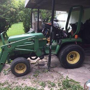 tracteur john deere 855
