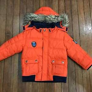 H&M Down winter jacket parka 7-8 yo boys